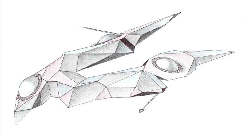 15 Drawing 2 Of V Shaped Vehicle