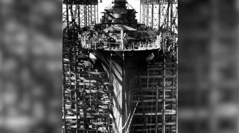 14 Aircraft Carrier In Drydock