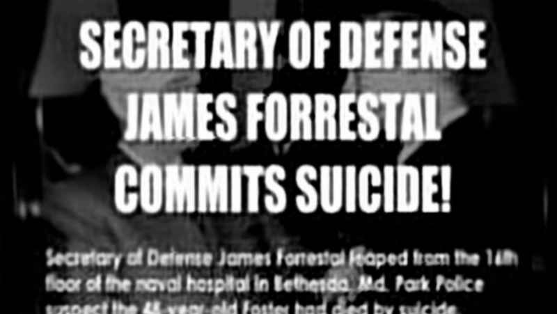 18 Forrestal Commits Suicide