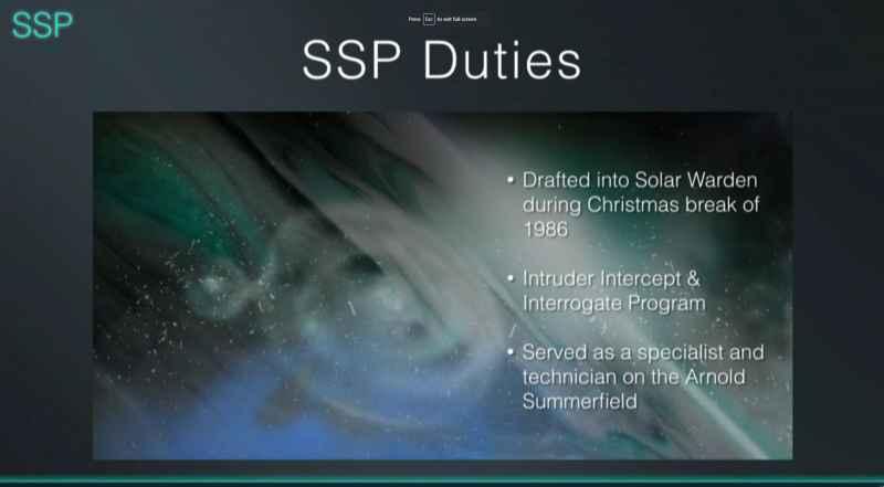 7 SSP Duties