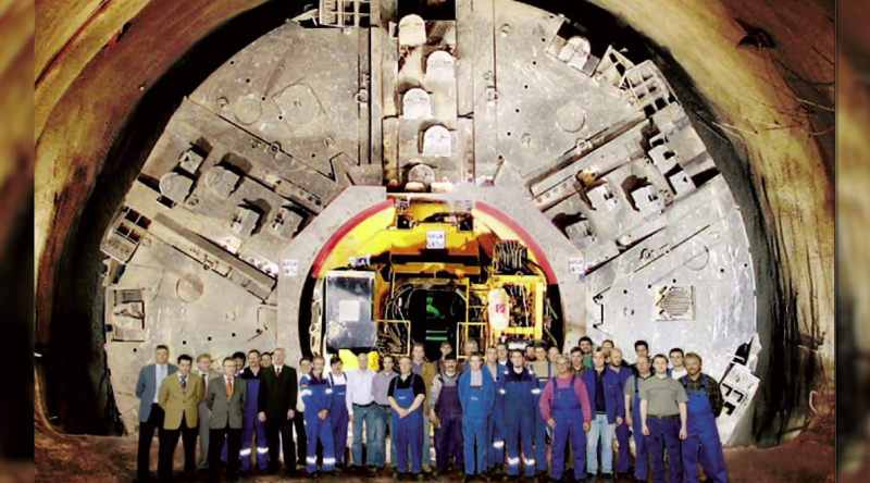 31 Newer Boring Machine