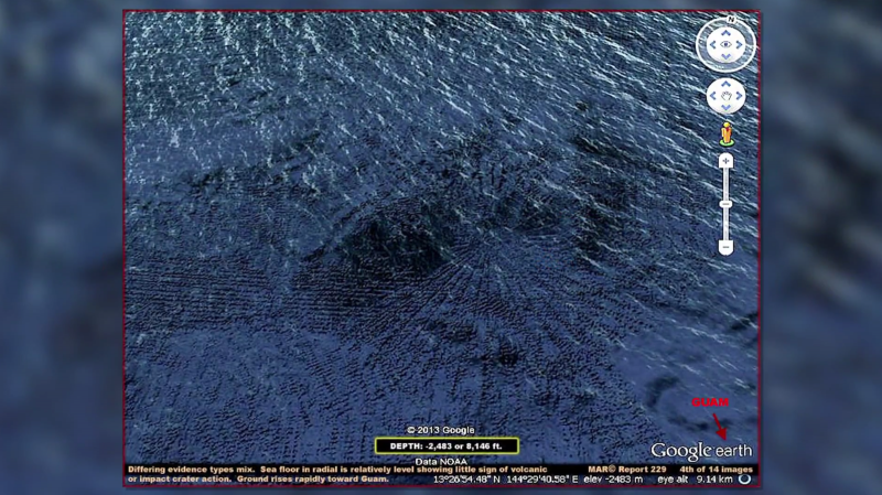 37 Mariana Trench Closeup 2